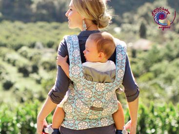 how to put on ergo baby carrier side carry