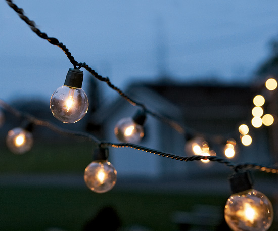 Wedding registry ideas best bets for the backyard Outdoor string lighting